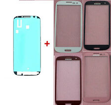 TOUCH SCREEN GLASS For Samsung Galaxy S2,S3,S4,S5,S6 White/black/blue+sticker