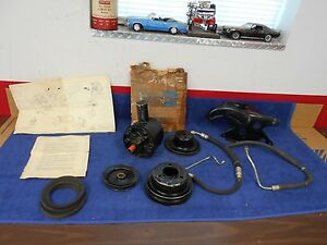1966-67 ? FORD FAIRLANE FALCON COMET 289ci POWER STEERING PUMP KIT NOS FORD  816