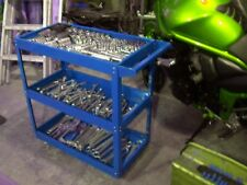 TOOL TROLLY ROLL STORAGE BOX CHEST TRAY CAB SERVICE PORTABLE MOBILE WORKSHOP