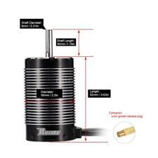 5692 980KV 4-Pole Sensorless Brushless Motor for 1/5 RC Car Newset U1A5