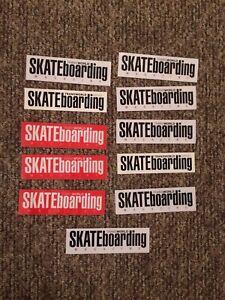 Transworld Skateboard Magazine Sticker Lot Thrasher Skate Ccs