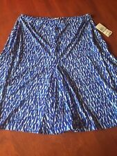 NWT MICHAEL KORS ROYAL BLUE AWESOME DRESS - 1X - A MUST FOR THIS SEASON !