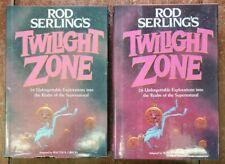 Rod Serling's Twilight Zone, vintage hardcover SciFi Anthology