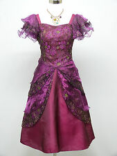 Cherlone Purple Prom Ball Evening Formal Wedding Bridesmaid Dress Size 14-16