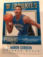 2014-15 Panini Prestige NBA Aaron Gordon RC Magic Mystery Rookie Acetate #12