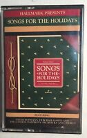 Hallmark Songs For The Holidays 1987 Cassette Free FIRST CLASS Shipping!