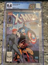 UNCANNY X-MEN #268 CGC 9.4 🔥 CLASSIC JIM LEE COVER 🔥 CUSTOM LABEL L@@K!