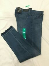 (*-*) KENNETH COLE * Womens JESS SKINNY Blue Jeans / Denim * Size 31 / 12 * NWT