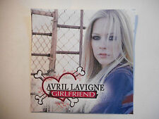 AVRIL LAVIGNE : GIRLFRIEND ♦ CD SINGLE RARE PORT GRATUIT ♦