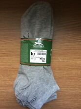 5 x PAIRS MENS GREY TRAINER  SPORTS ANKLE SOCKS Slazenger UK 12-15 EU 47-50