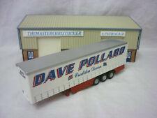 Corgi Roadscene Modern 1:76th Truck Dave Pollard Curtainside Trailer