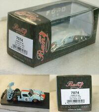 Ford GT40 le mans 1969 Ickx-Oliver 7074 1/43 Bang Made in Italy