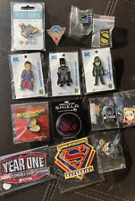 SDCC 2017 Pins Batman Superman Green Arrow Sideshow Wonder Woman & More