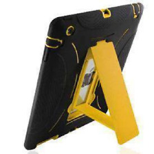 For iPad 2 3 4 Shockproof Protective Cover Back Hard Case With Stand Cover