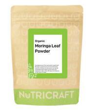 250g Poudre de Feuilles Moringa Bio Par Nutricraft™ - 100% Pur ,sans Remplissage