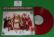 "SHARON JONES SIGNED ""LOVE YA!"" THE DAP KINGS IT'S A HOLIDAY SOUL PARTY LP ALBUM"