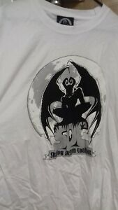 Shadow Demon Coalition T-Shirt White XL NEW RARE STOCK FIND
