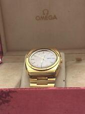 Omega MEGAQUARTZ Geneve Vintage Orologio anni'70 GENTILUOMO nella scatola originale
