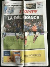 L'Equipe Journal 12/10/2011; France-Bosnie-Herzégovine 1-1 par Nasri/ NBA