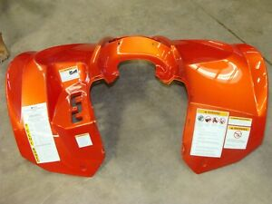 NEW Arctic Cat orange arctic cat front fender xc450 atv efi 2012 11 13 14