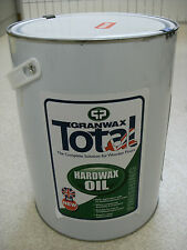 GRANWAX HARDWAX OIL 5 LTR , HARDWOOD FLOORING , OAK , DIY