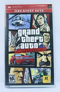 Grand Theft Auto: Liberty City Stories (Sony PSP, 2005) w/Case *Untested* TM8