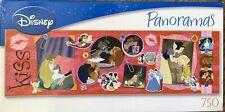 "DISNEY PANORAMAS 750 Piece Jigsaw Puzzle ""The Disney Kiss"" #50571"