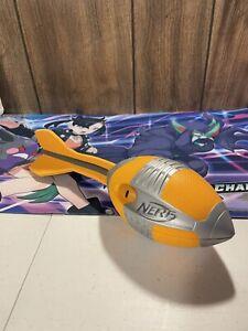 NERF Aero Whistler Vortex Howler Orange Black Silver Football 2012 Hasbro