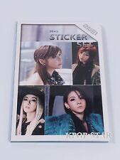 2NE1 Dara Minzy CL Photo Sticker Set ( 16 Pcs ) KPOP Korea K-POP Korean Stickers