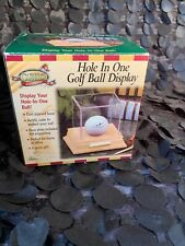 Hole In One Golf Ball Display