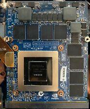 Nvidia GeForce GTX 880M 8GB MXM 3.0 Type B Video Card JH9PP N15E-GX-A2 Clevo XMG