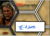 TNA Kevin Nash 2008 Impact SILVER Authentic Autograph Card DWC