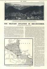 1916 Area Held By Central Powers Map Military Situation