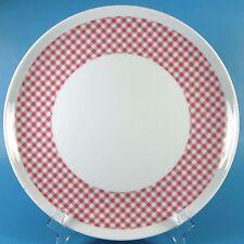 Arzberg VICHY BLACKBERRY Dinner Plate (s) Pink Checks Gingham BROMBEERE