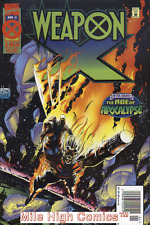 WEAPON X (1995 Series)  (AGE OF APOCALYPSE) #2 NEWSSTAND Near Mint Comics Book