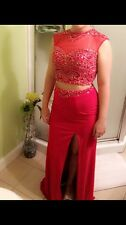 womens red size small (5) prom dress