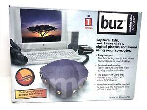 IOMega Buz Complete Multimedia Solution Power of Ultra SCSI Windows 95