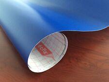 DC 200-0897  Matt Royal Blue Self Adhesive Contact 45cm x 1m German Made DIY