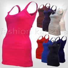 Viscose Plus Size Sleeveless T-Shirts for Women