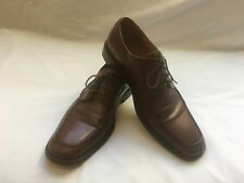 Aston Grey Shoes 8.5 Brown Leather Rubber Soles