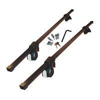 "Malone SteelTop™ Cross Rail Roof Rack System (65"") For Kayaks, Bikes"