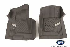 2015-2019 GMC Yukon Front All-Weather Floor Mat in Cocoa 84185475 Genuine OEM GM