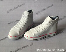 1/6 scale Kumik classic White Men male Convers All Star Shoes Sneakers Boots