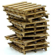 F/G scale BANTA MODEL WORKS #925 Wood Pallets (7 per kit)