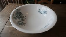Antique Buffalo Pottery Semi-Vitreous Chrysanthemum Large Wash Basin Bowl RARE