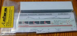 A-Line HO #50509 53' Reefer Trailer -- Stevens Transport