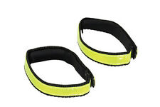 Nathan Cycling Cyclist Visibilty Anklebands Hi-viz Yellow AIDS Visibility