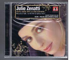 JULIE ZENATTI  CD(NEUF) DANS LES YEUX D'UN AUTRE/ LA VIE FAIT CE QU'ELLE VEUT