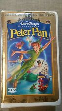 Walt Disney's Masterpiece Peter Pan Fully Restored 45th limited Edition VHS