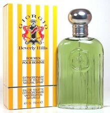 GIORGIO BY BEVERLY HILLS 4.0 OZ EDT SPRAY FOR MEN NEW IN BOX